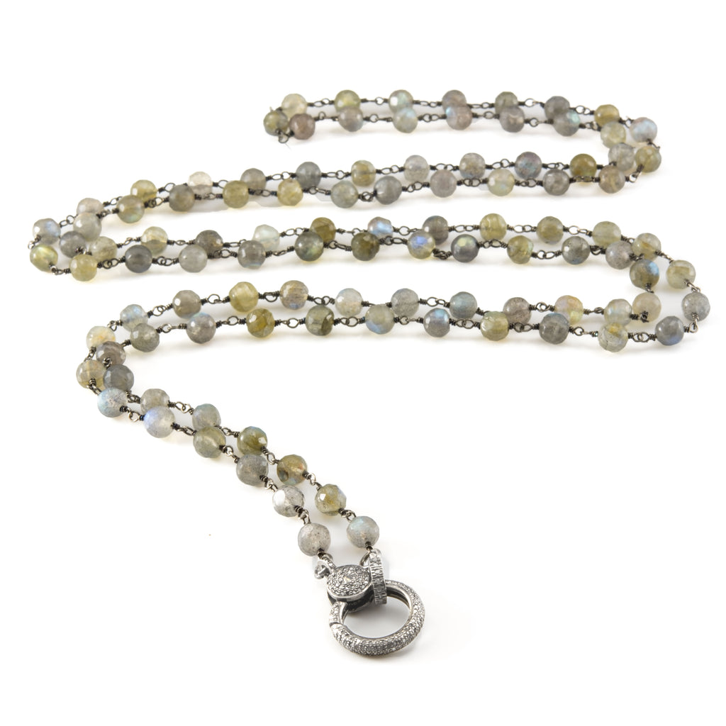 Labradorite Rosary Necklace