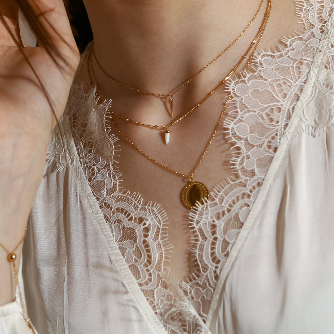 Luxe Coin Charm Necklace