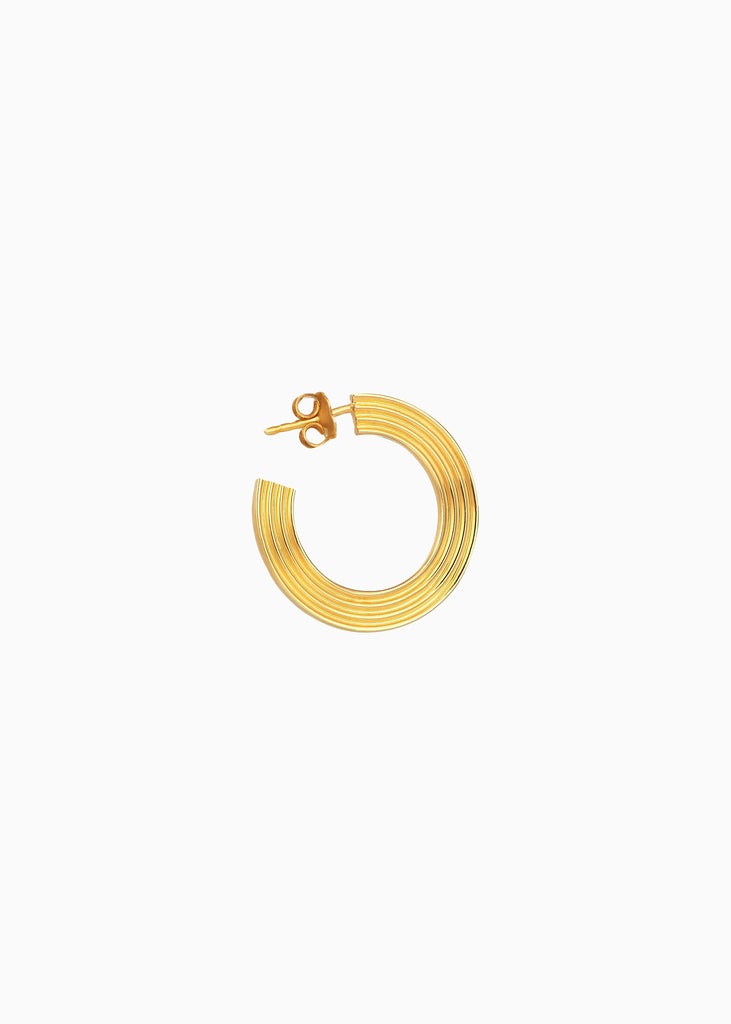 Small Gold Statement Earring