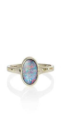 Oval Opal Ring