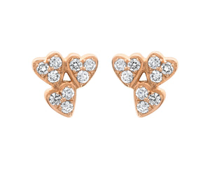 Queen Of Hearts Diamond Earrings