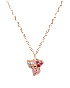 Queen Of Hearts Multi Colour Necklace