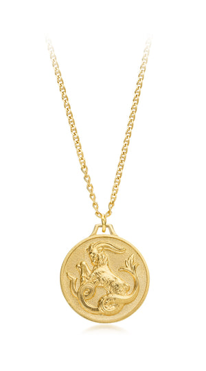 Astro Capricorn Medallion