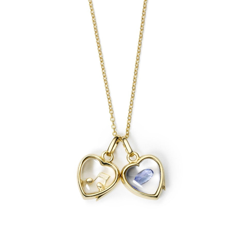 Small Gold Heart Locket