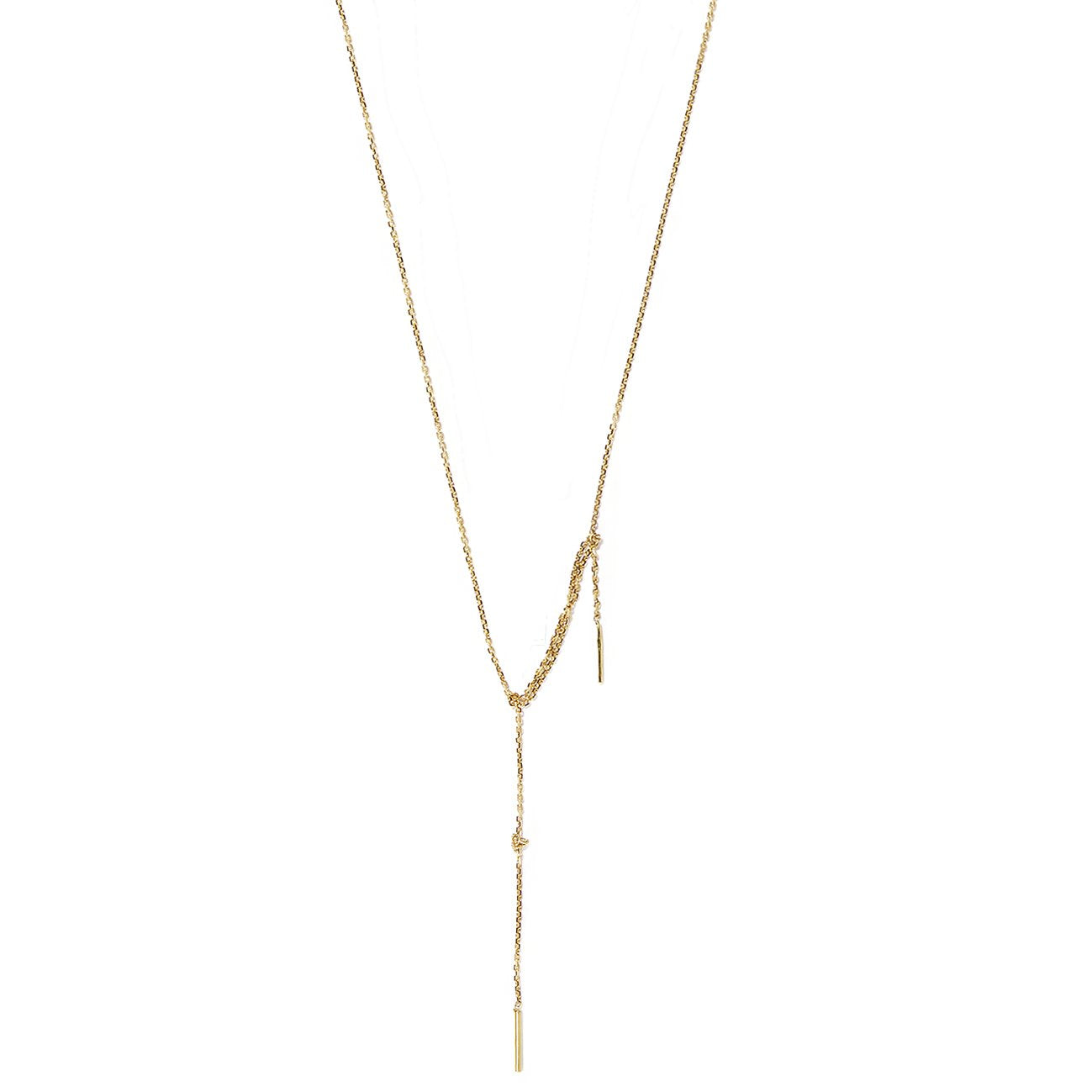 Tangled Up Gold Necklace