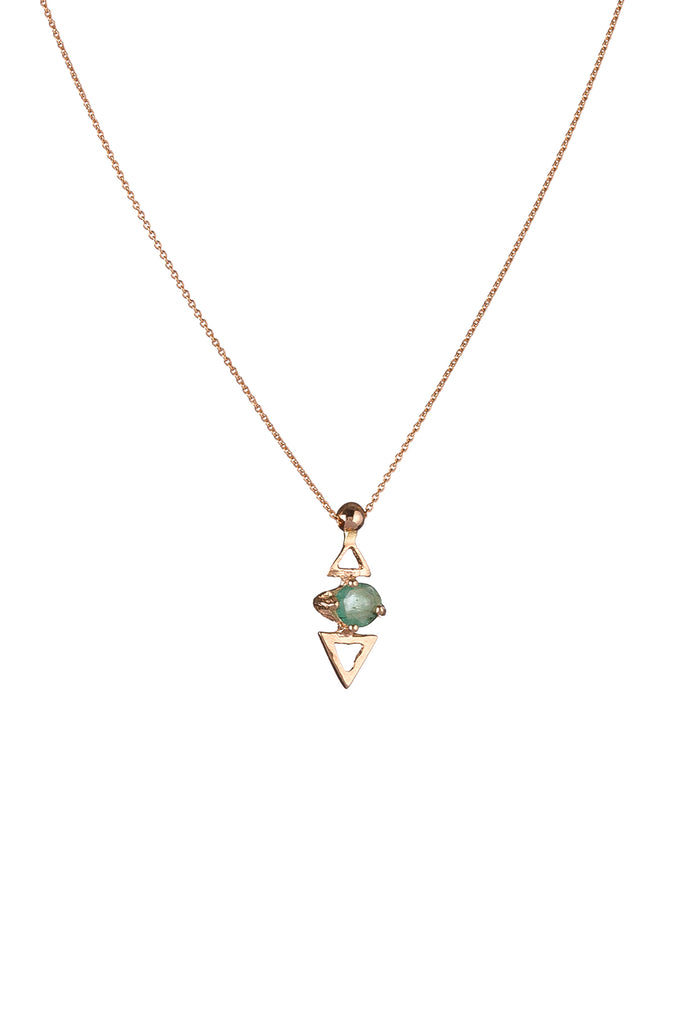 Topkapi Triangle Necklace