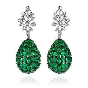 Lucious Emerald Earring