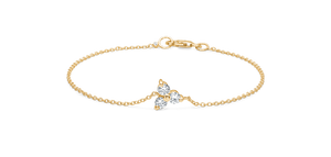Fryd Diamond Yellow Gold Bracelet