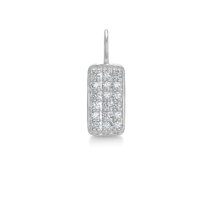 Rock Diamond Square Pendant