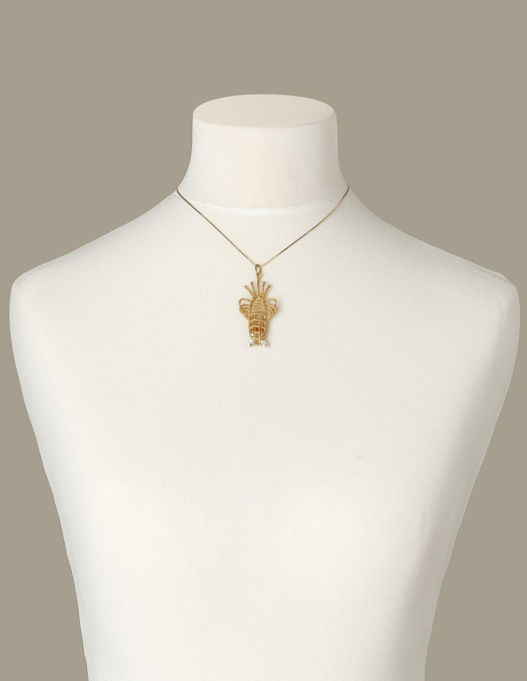 Lobster Luxury Necklace (Gold)