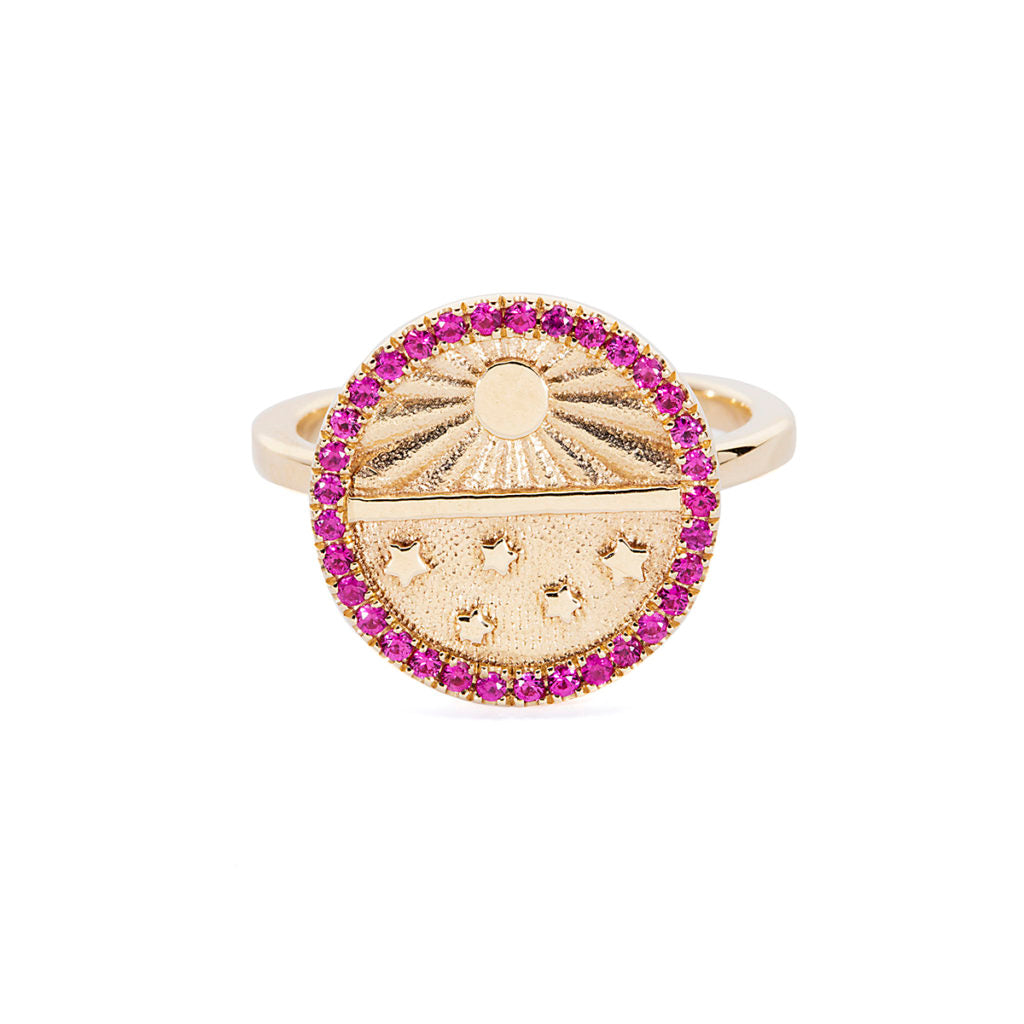 The Ruby Universe Signet Ring