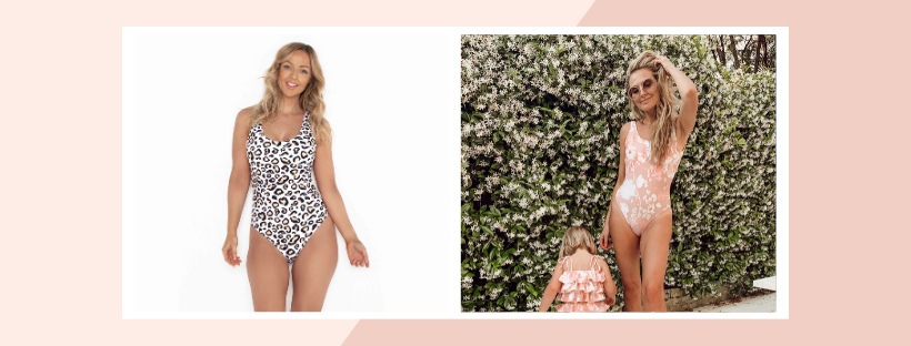 Fit guide: Candice one piece is flattering for all body shapes with removable cups and supportive straps