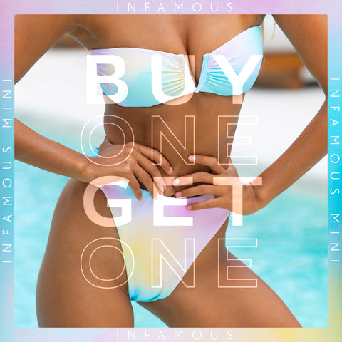 Buy one get one 50% offer, valid on items in this collection and for a limited time only