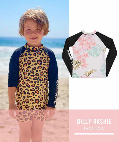 kids rash vest shirt for extra sun protection in our harsh aussie climate