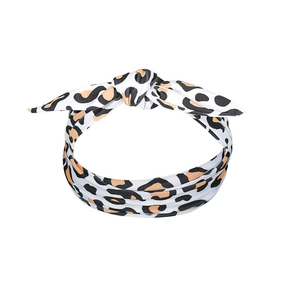 MINI CARMEN Head Band // Safari Leopard