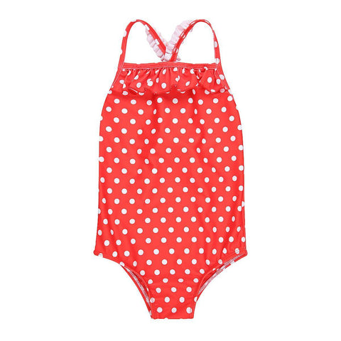 CANDICE One Piece // Red Polka Dot