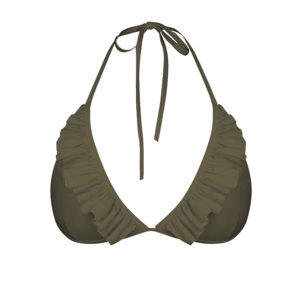 ELLE Top // Military Green