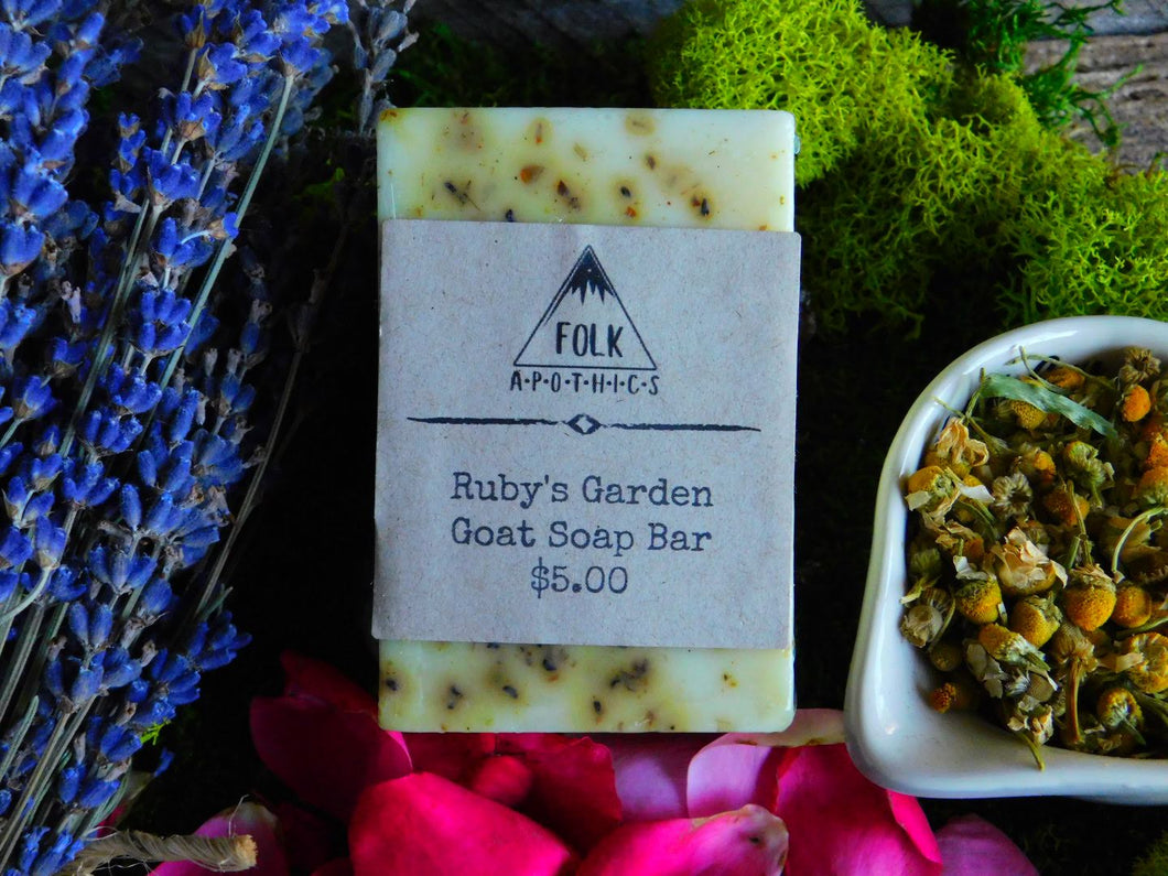 Ruby's Garden Soap Bar