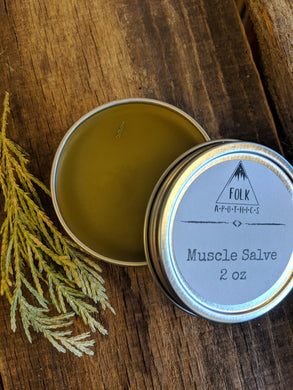 Pine Pitch Muscle Salve