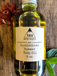 Appalachian Summer Body oil 8oz