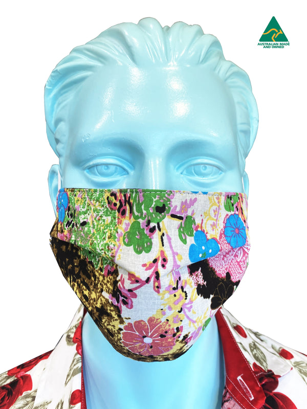 Kaleidoscope Reversible & Reusable Face Mask