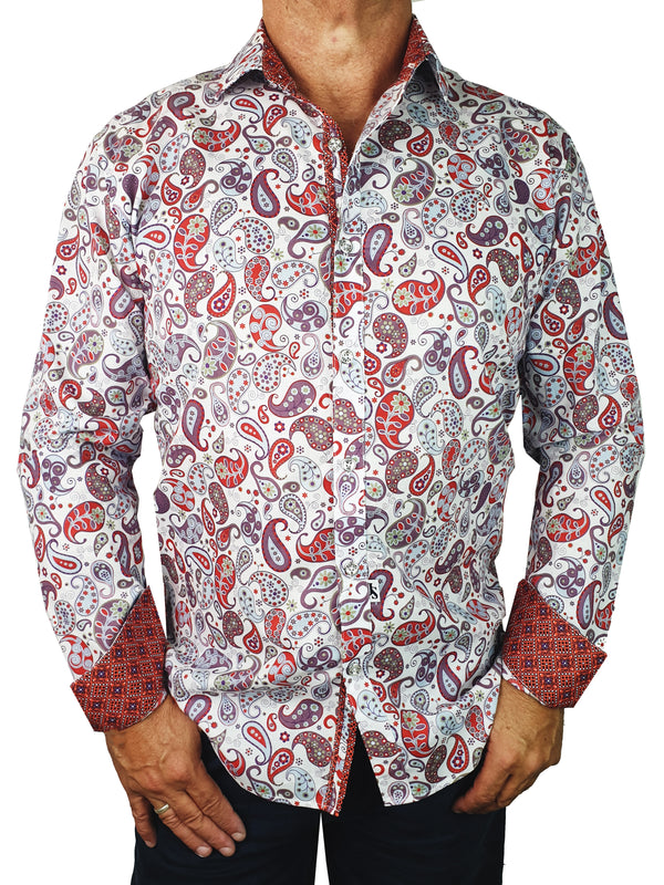 Artist Long Sleeve Big Mens Shirt