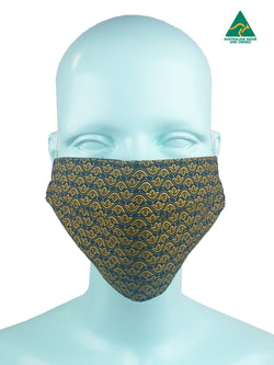 Crown Reversible & Reusable Face Mask