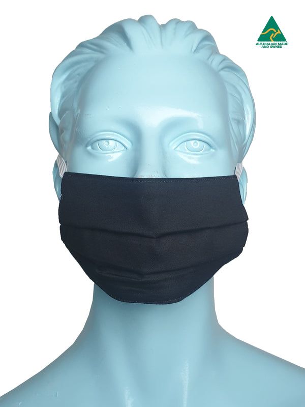 Catfish Black Reversible & Reusable Face Mask