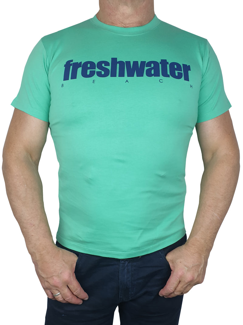 Freshwater Green Printed T-Shirt