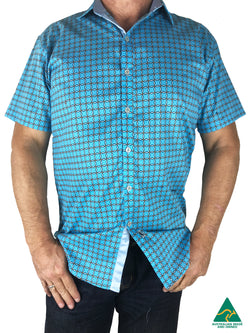 Harmony Short Sleeve Big Mens Shirt