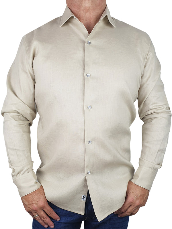 Byron Bay Latte Long Sleeve Shirt