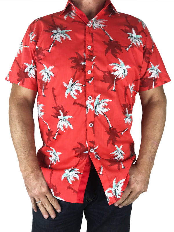 Malibu Big Mens Short Sleeve Shirt