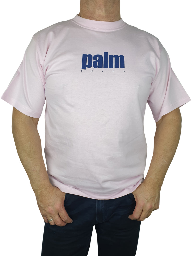 Palm Beach Pink Printed T-Shirt