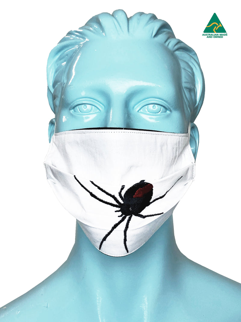 Redback Reversible & Reusable Embroidered Face Mask