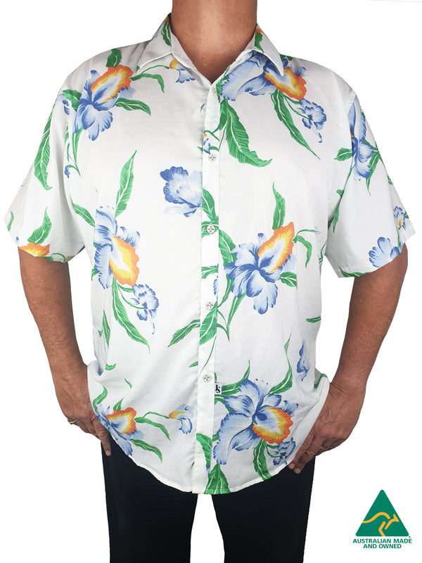 Tequila Sunrise Short Sleeve Big Mens Shirt