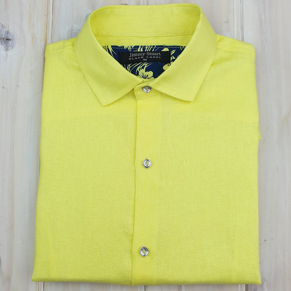 Byron Bay Lemon Long Sleeve Shirt