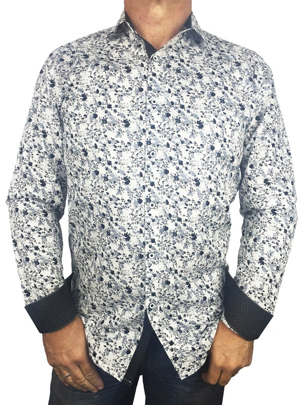 Lantana Long Sleeve Big Mens Shirt