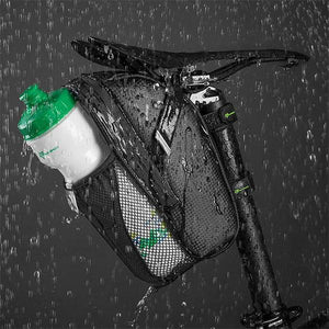 Rainproof Dirtproof Bicycle Tail Bag (With Tail Lights)