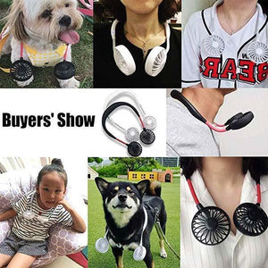 ✨Flash Sale✨Newly Upgraded Outdoor Sports Neck Fan