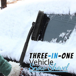 Three-in-one Vehicle Snow Shovel