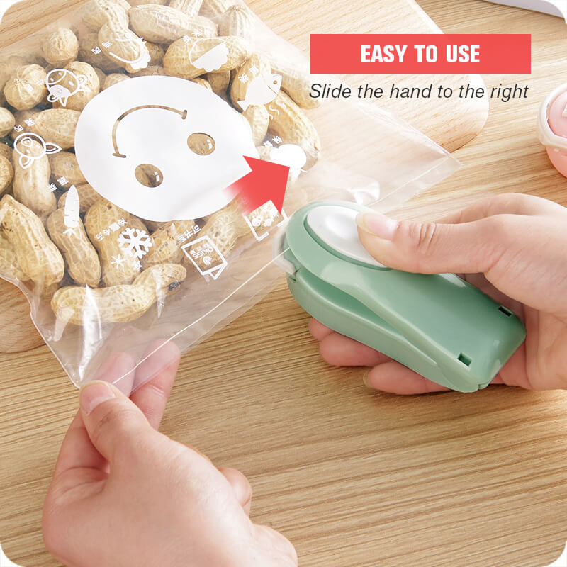 (Christmas Promotion-BUY 1 GET 1 FREE)Best Gift - Portable Mini Sealing Machine
