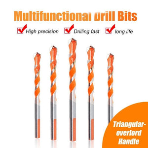 Triangular-overlord Handle Multifunctional Drill Bits(Set of 4)