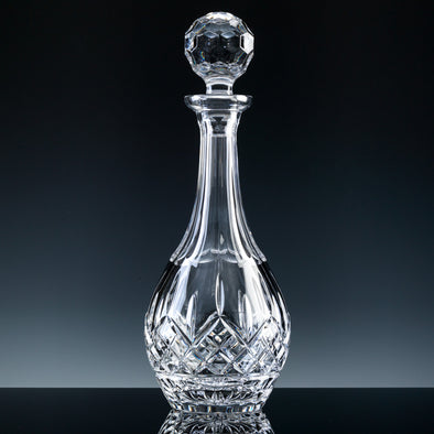 Inverness Crystal Premier - Fully Cut - Wine Decanter, Blue Box (Not Suitable For Engraving)