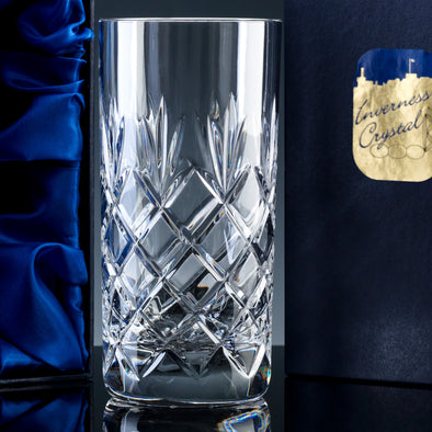 Inverness Crystal Traditional - Fully Cut - 12oz Hiball, Satin Box (not suitable for engraving)