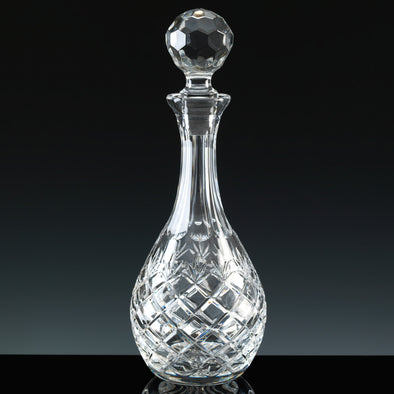 Inverness Crystal Traditional - Fully Cut - Wine Decanter, Blue Box (Not Suitable For Engraving)