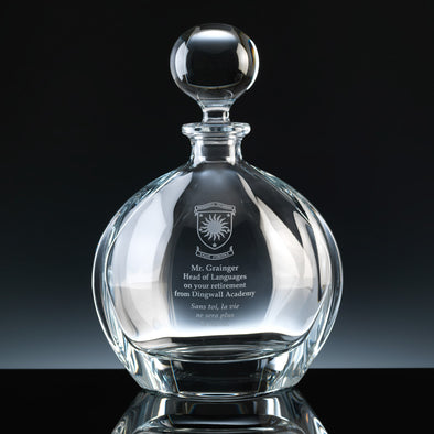 0.8l Orbit Decanter, Blue Box (available with engraving)