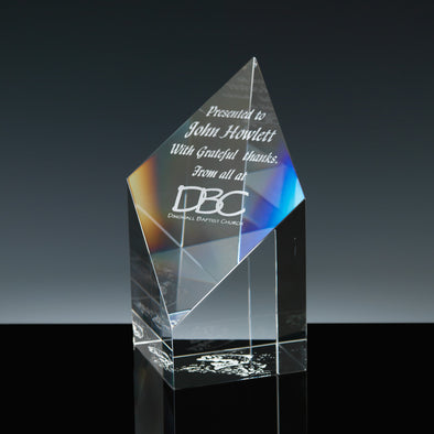 "Whitefire Optical Crystal 5"" Fort William Column Award"