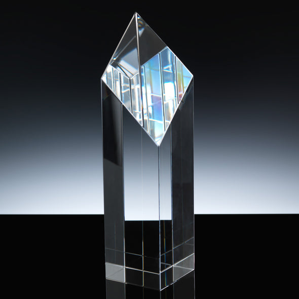 "Whitefire Optical Crystal 9"" Fort William Column Award"