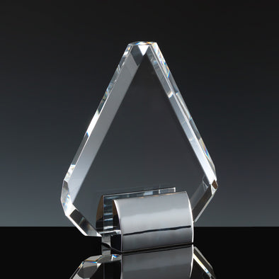 "Fusion Crystal 6"" Diamond & Chrome Base"