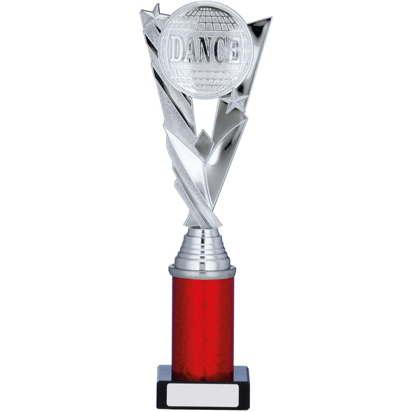 Silver/Red Trophy 28.5cm